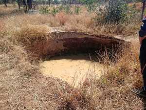 Bowen Basin sinkhole potentially linked to historic mining