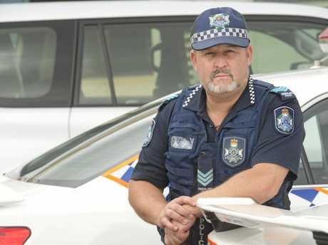 Sergeant Tony Rehn.