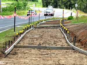 3.5km of new footpaths on their way to Gympie