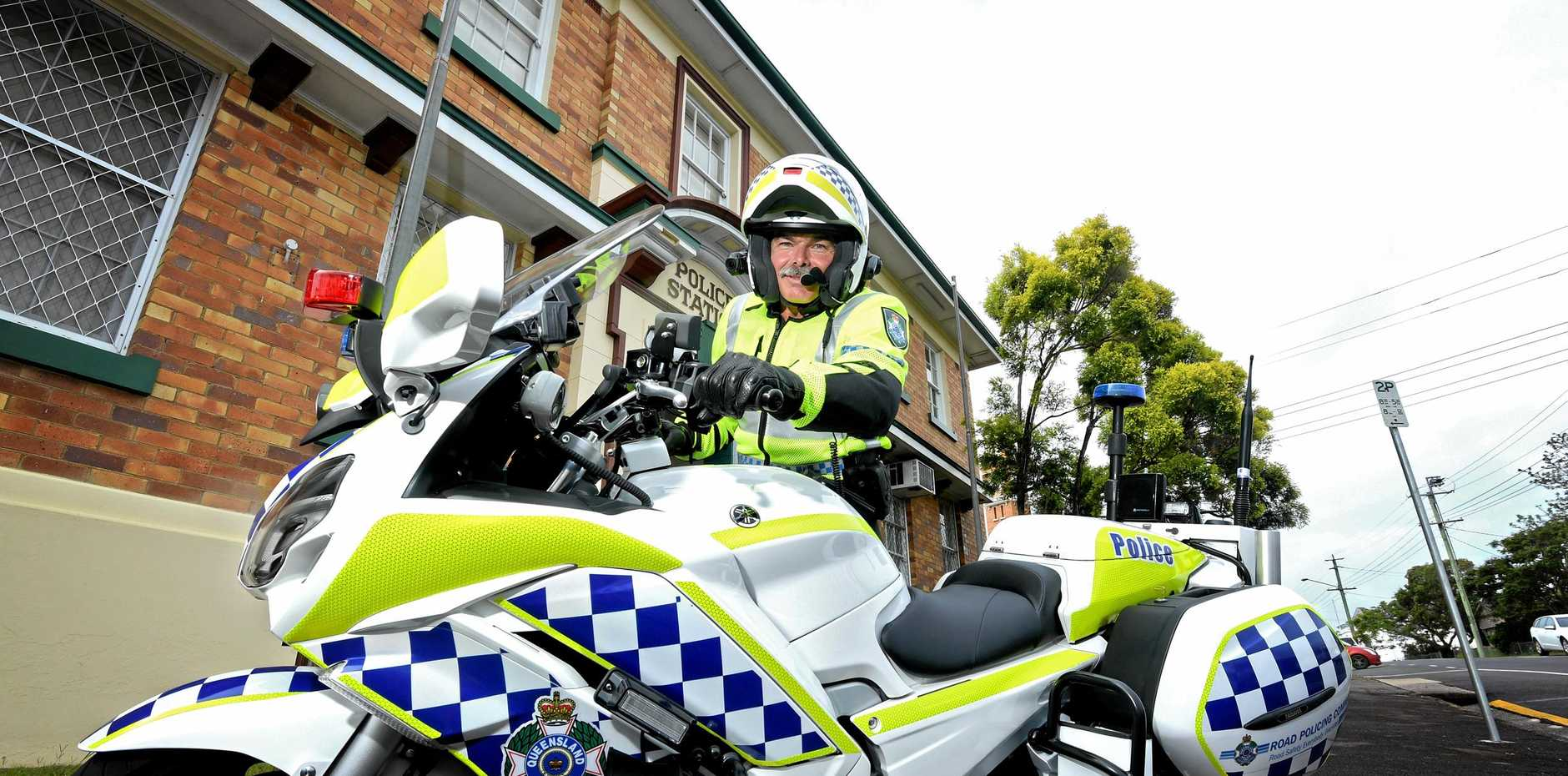 CONCERNING TREND: Officer in Charge for the Gympie Road Policing Unit, A/Sgt Chris Watson is concerned with the number of fatalities in the Gympie Region.
