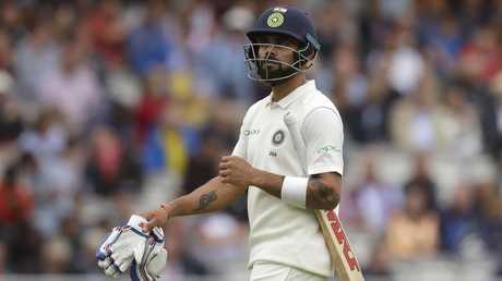 Virat Kohli's India were skittled in both innings.