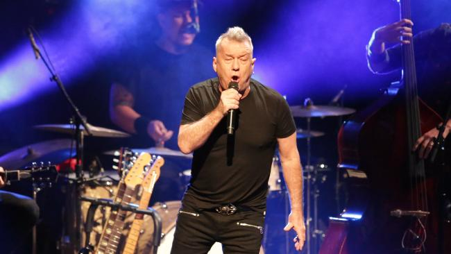 Jimmy Barnes has taken a tumble. Picture: Christian Gilles