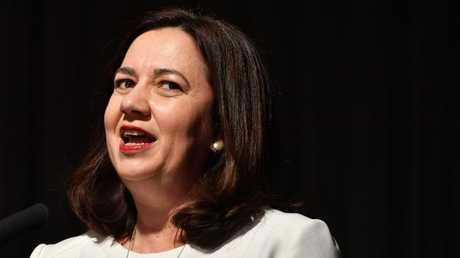 Annastacia Palaszczuk seems to be losing control of her Cabinet. Picture: AAP/Darren England