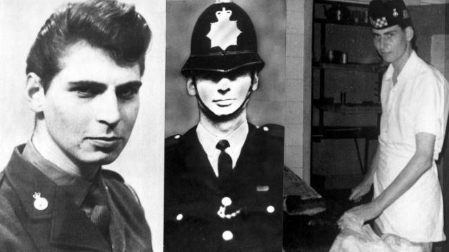 Serial killer Dennis Nilsen.