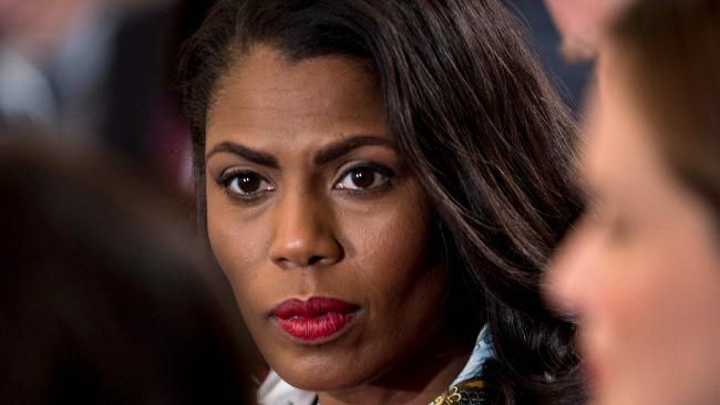 Omarosa Manigault-Newman resigned from the White House in December. Picture: AFP PHOTO / Brendan Smialowski
