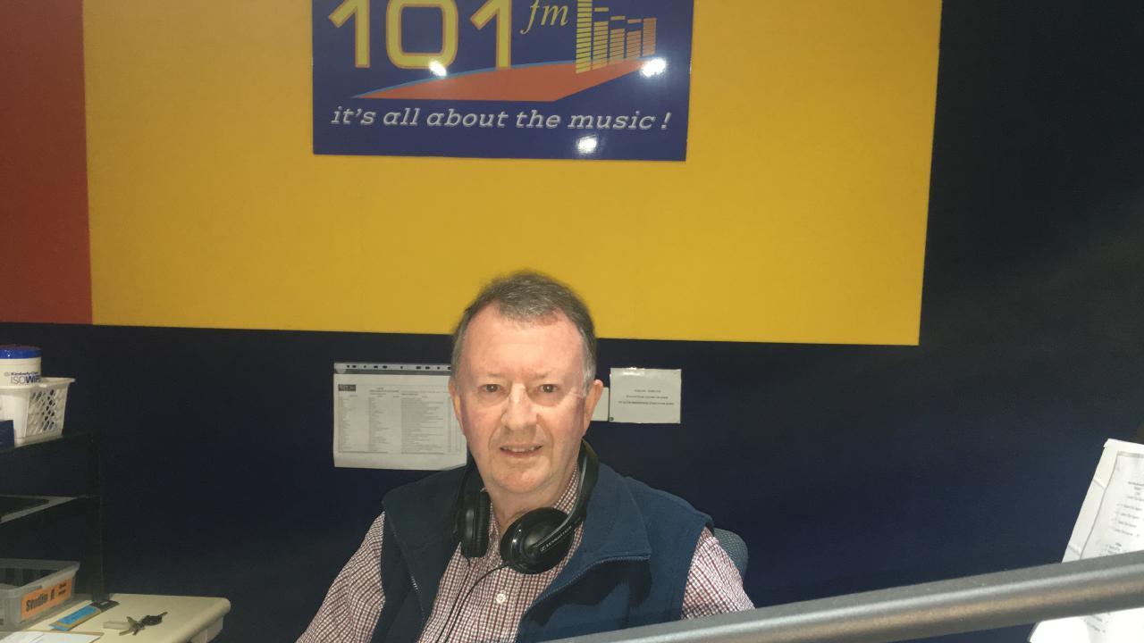 FM 101 Radio Station manager Terry Blacker.