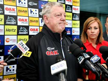 Penrith general manager Phil Gould may be interested in Bennett. Picture: Joel Carrett/AAP