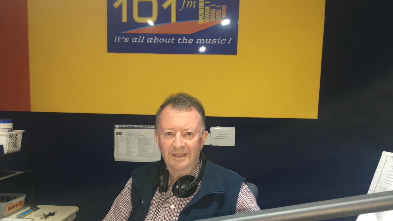 LOGAN FM 101 station manager Terry Blacker