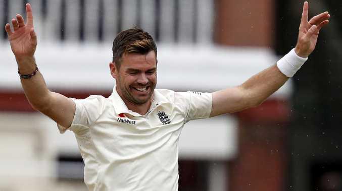 England's James Anderson has been unplayable for India's batsmen.