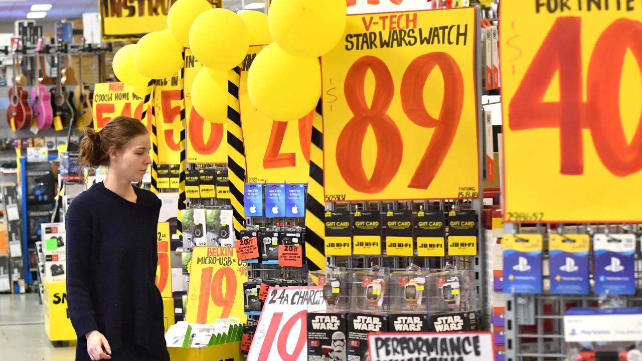 JB Hi-Fi's combination of low prices and knowledgeable staff is a winner. Picture: AAP Image/Darren England