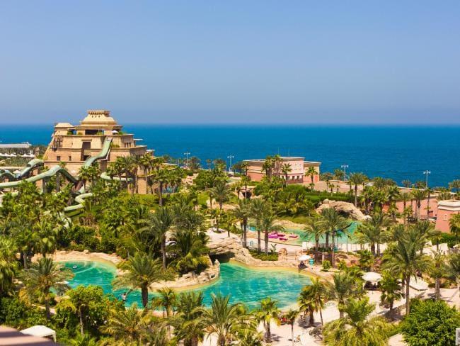 Atlantis The Palm Hotel and Resort, Dubai.