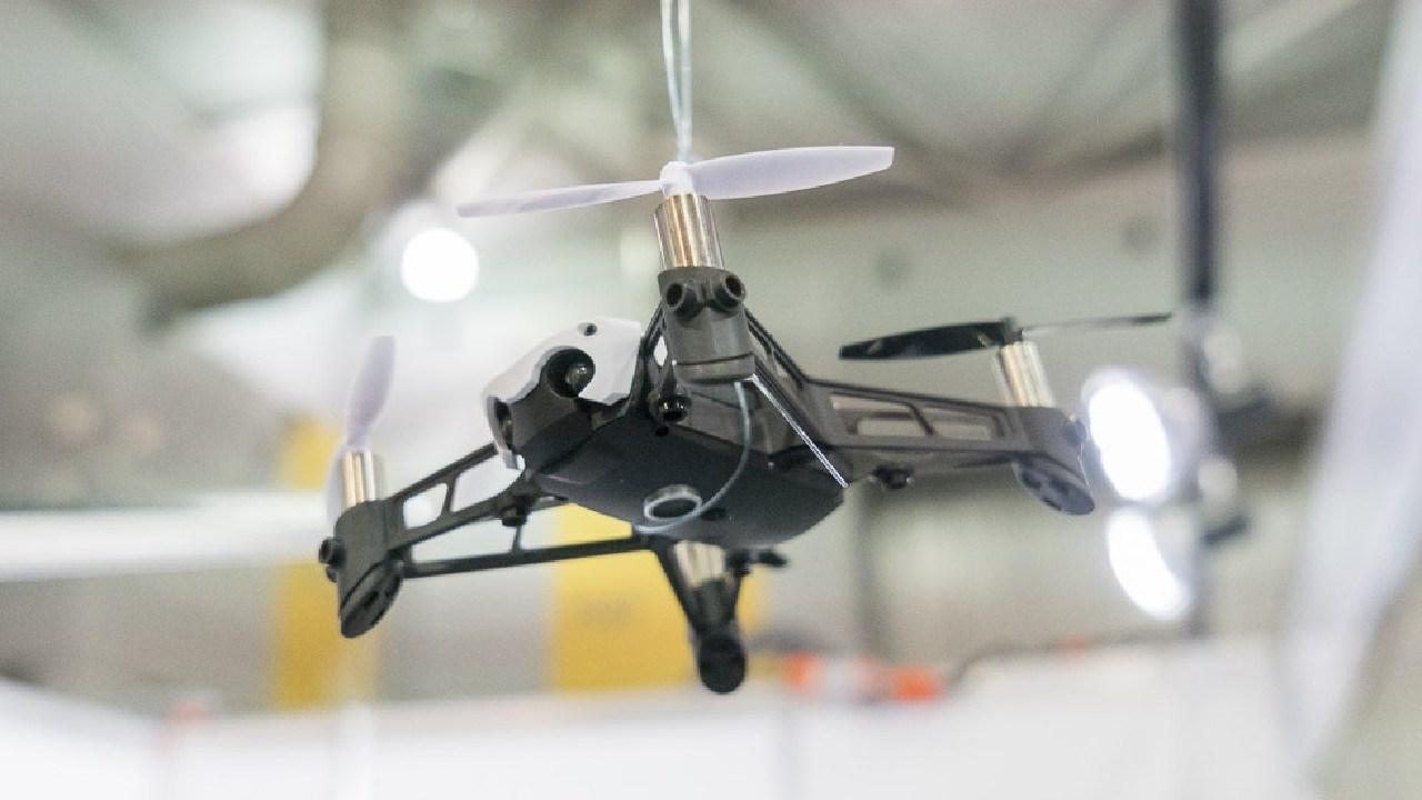 Drones were a big seller at JB Hi-Fi. Photo: David Street