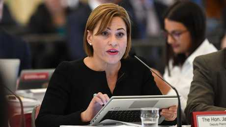Deputy Premier Jackie Trad whose office advised the account could not be accessed. Picture: AAP/Dave Hunt