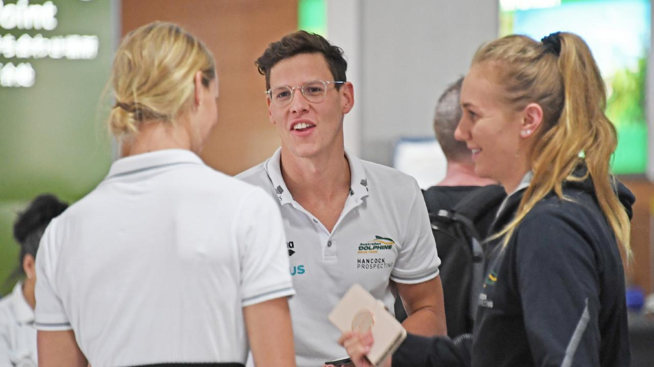 Aussie swimmer Mitch Larkin's split with Emily Seebohm was very public. Picture: Brian Cassey