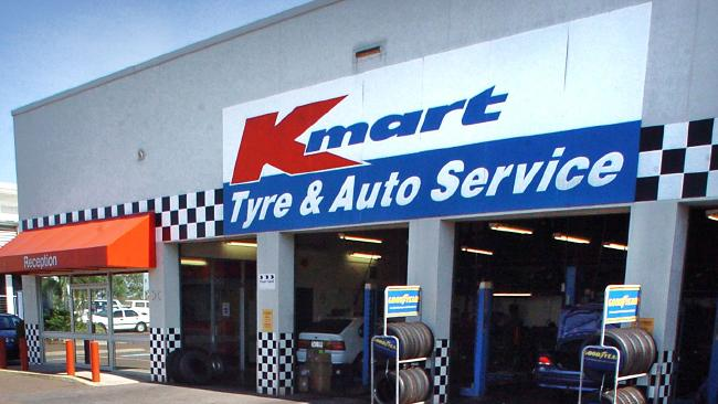 Kmart Tyre and Auto is being sold to the Germans. Picture: Patrina Malone