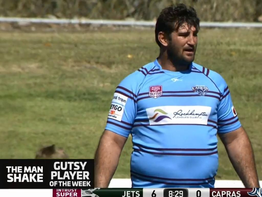 Dave Taylor is in his first season with Central Queensland Capras.