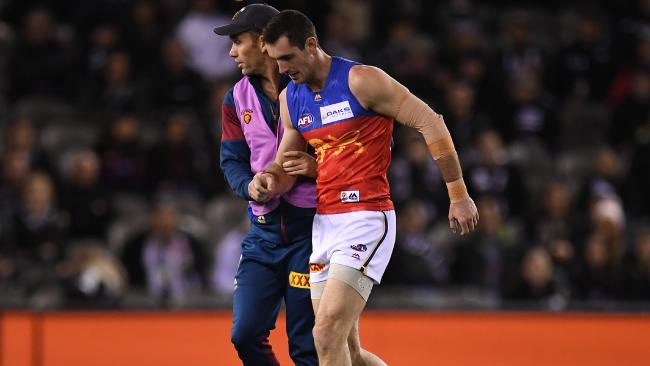 Darcy Gardiner dislocated his shoulder against Collingwood.