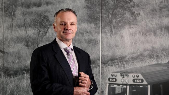 AURIZON boss Andrew Harding earned $4.08 million last financial year. Picture: Tara Croser.