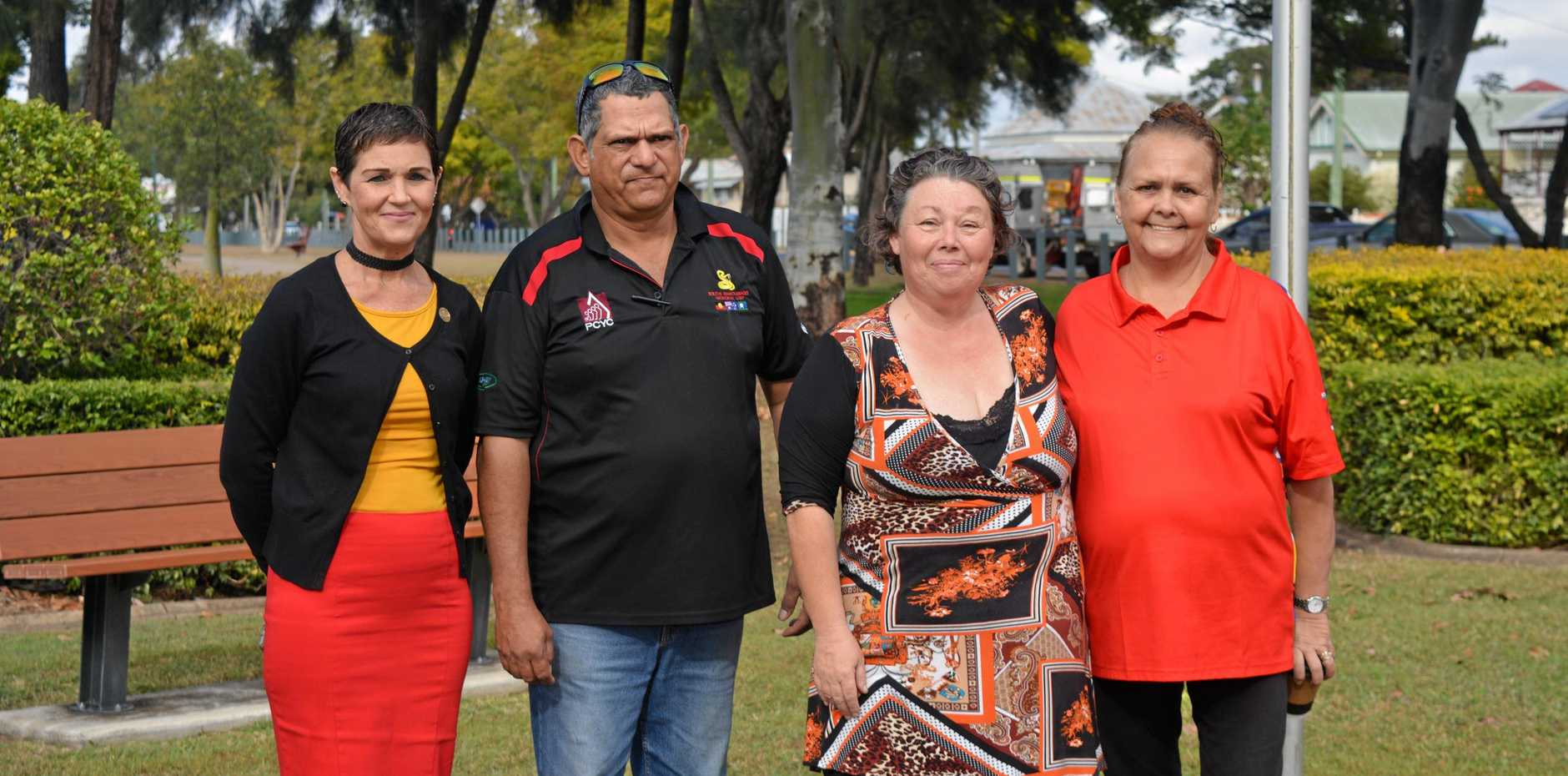 EXCITING: Spirit of the Valley president Idell Wadley (third from left) said the grant from Lockyer Valley Regional Council was just what the group needed.