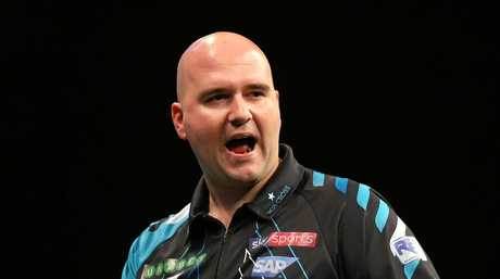 Rob Cross turned professional only 11 months before winning the world crown in January.