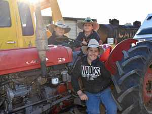 Tractors tackle 153km trek