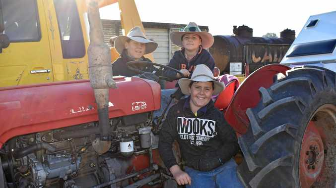 Tractors tackle 153km trek