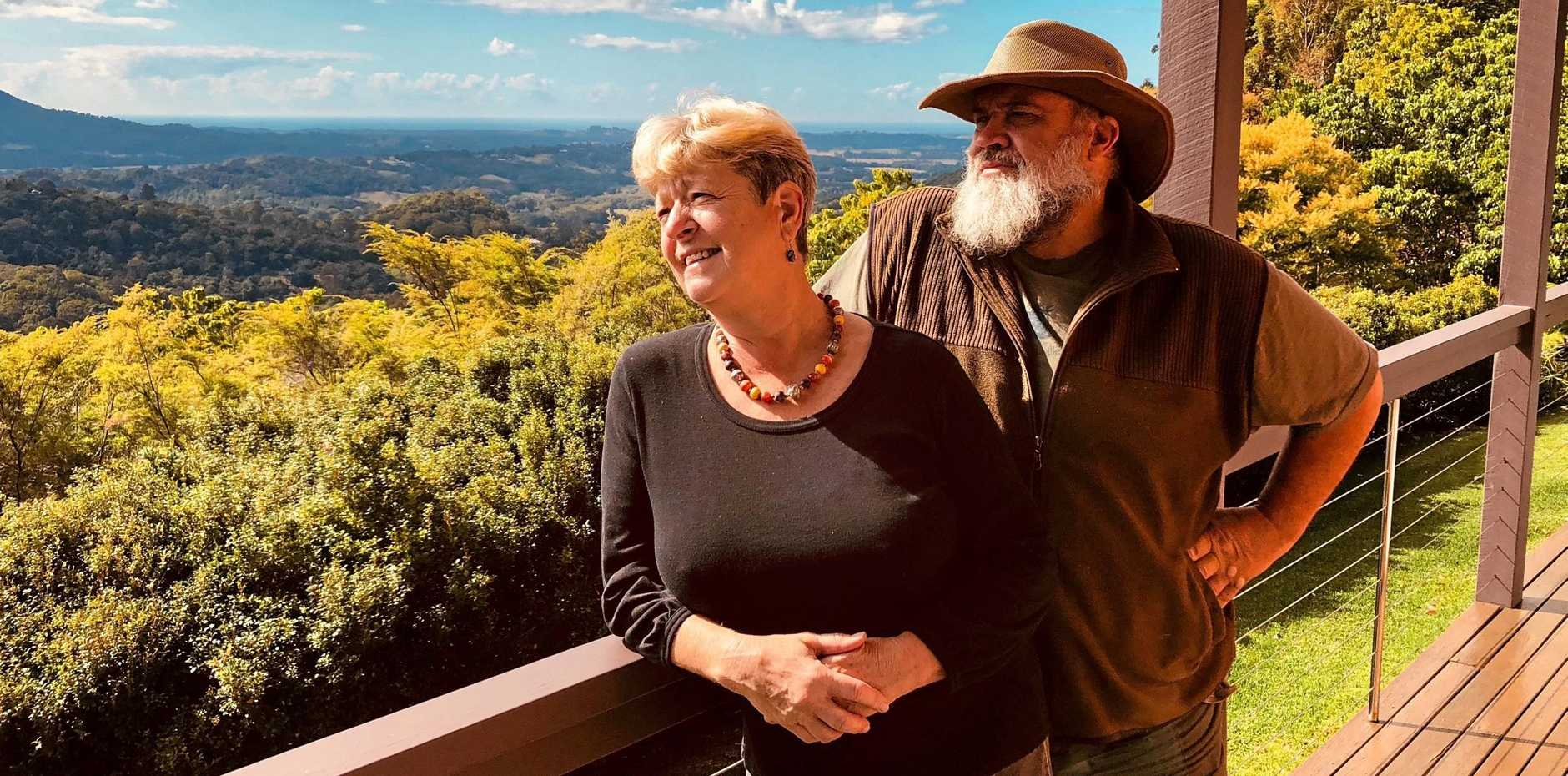ACCOMMODATION: Owners on Glogheen Guest House near Mullumbimby, Peter and Julie Ryan fear new short stay regulation will ruin their family business.