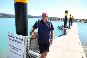 Council public jetty rules has cruising yachties frustrated