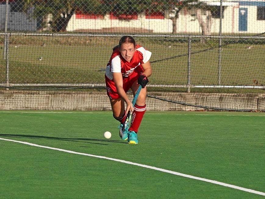 Claire Colwill was named player of the tournament and was selected for the Australia.