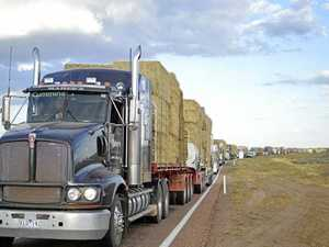 Council trucks to deliver water, hay to struggling farmers