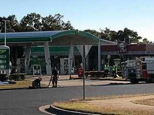 Suspected gas leak closes busy CQ servo