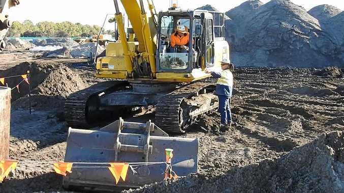GIVE IT A GO: Budding digger drivers are invited to an open day for a new course.