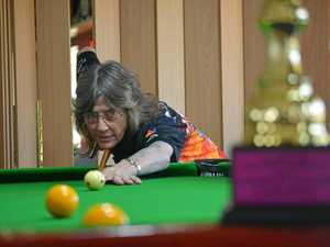 She is the best female 8-ball player in Queensland