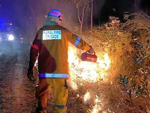 Bundy fire warning: Big dry fuels rising concerns