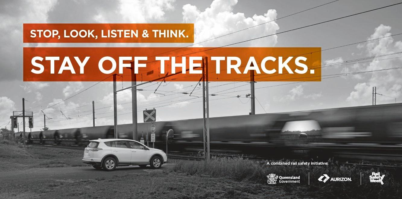 NEAR MISSES: Rail Safety Week seeks to bring attention to the countless near misses of trains at level crossings happening around Queensland.