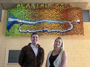 Striking new coast artworks raise awareness on big issues