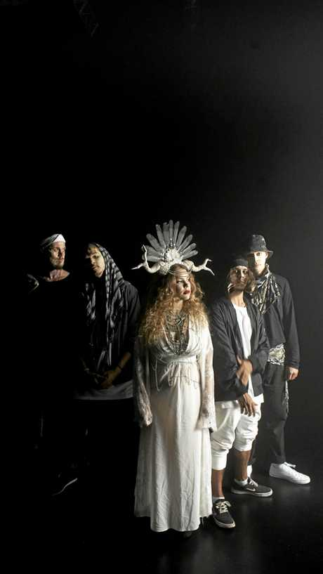 Indigenoise are a dance electronic five-piece formed by Coedie McCarthy, Minjarrah Jarrett, Roslyn Barnett, Jannali Doncaster and Benjamin Robinson.