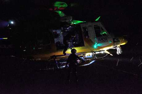 A bushwalker had to be winched more than 30 metres up into the RACQ CQ Rescue helicopter on January 29 after he was injured on a walking track near Airlie Beach.The 29-year-old Airlie Beach man was coming down a steep section of the Honeyeater Trail, part of the Conway Circuit walking track, at sunset when it is believed he tripped and fell breaking his ankle.The chopper service handed the walker over to Queensland Ambulance Service.