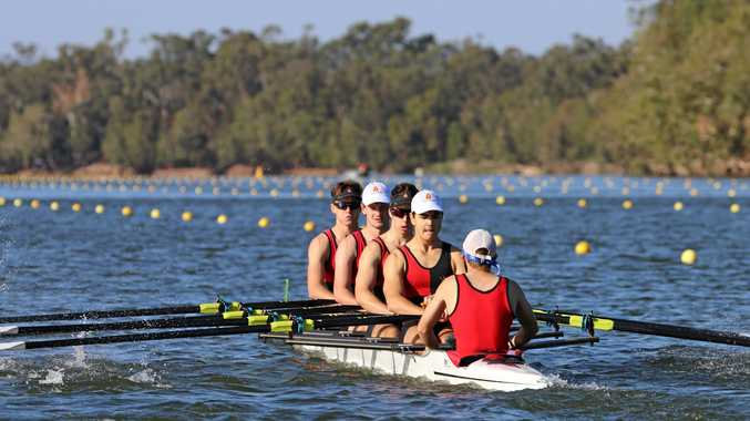 Crews from Rockhampton Grammar will compete at the Queensland Secondary Schools Rowing Championships on the Fitzroy River. Over 1000 competitors last year flocked to the region for the second largest regatta in Australia.