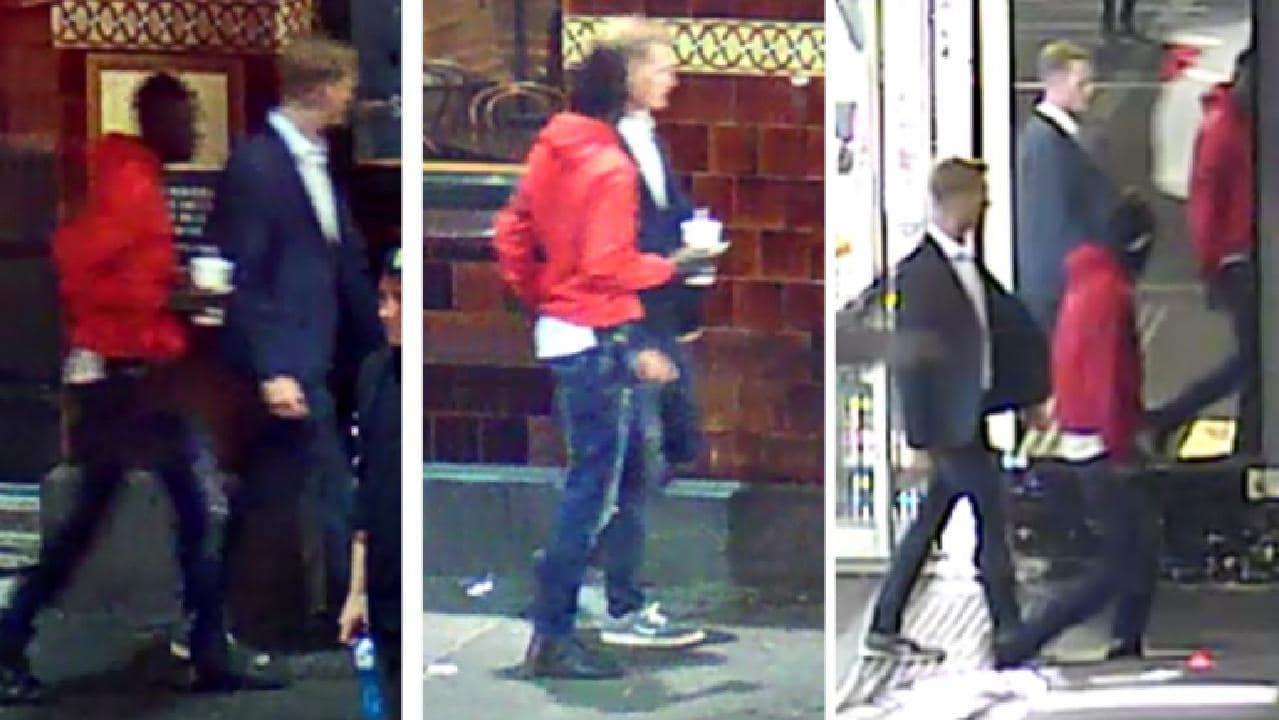 Police wish to speak to these two witnesses.