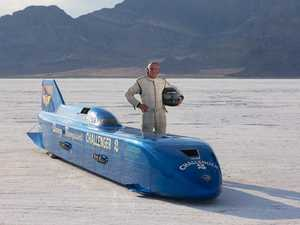 69-year-old Danny Thompson breaks world speed record