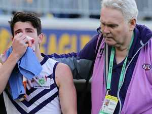 Peace declared after vicious AFL punch