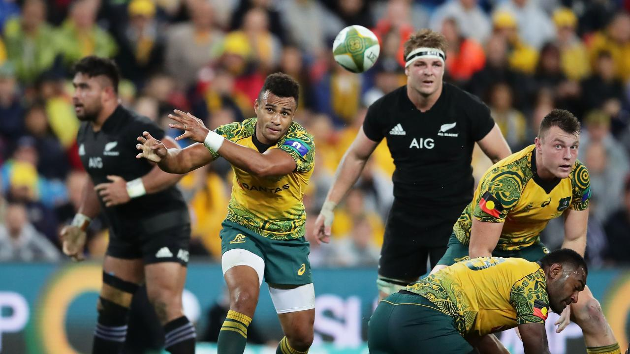 "Will Genia says the indigenous jersey should just be called the ""Australian"" jersey. Picture: Matt King/Getty Images"