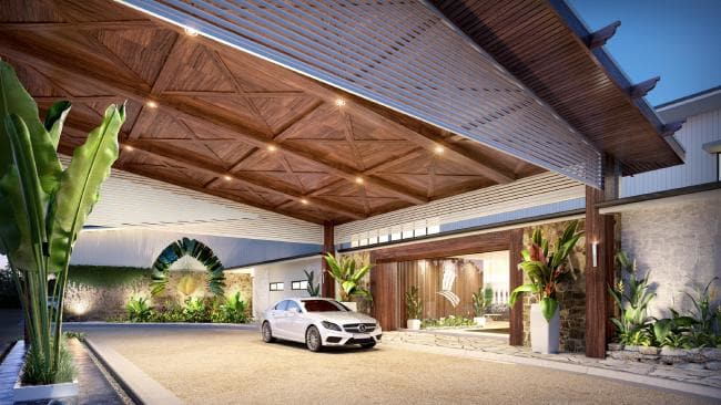 The proposed Caloundra Clay club house.