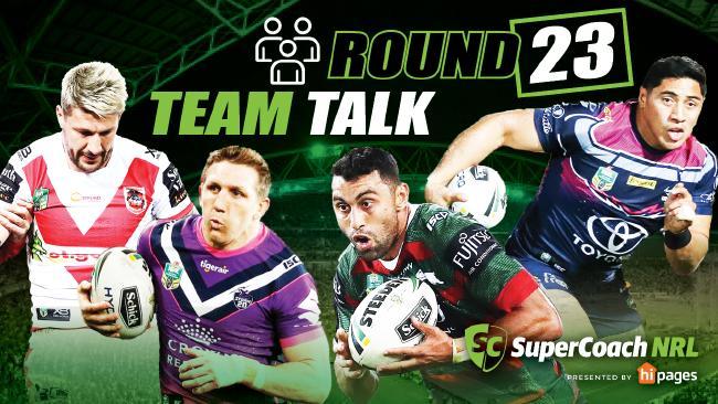 NRL teams round 23