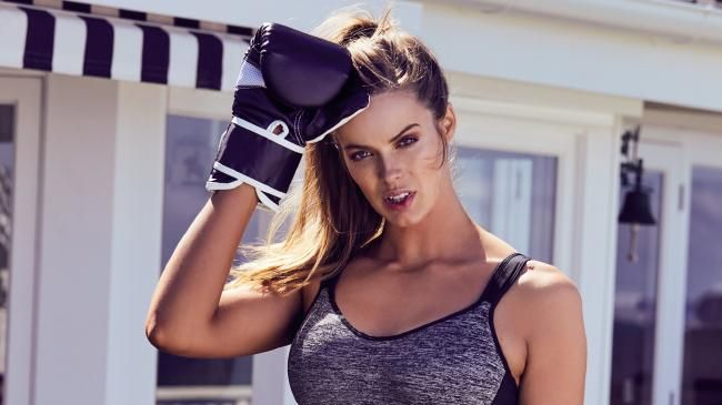 Robyn Lawley recently suffered severe facial injuries following a seizure. Picture: Supplied