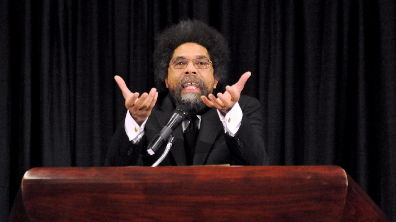 Dr Cornel West expressed his views on President Donald Trump during ABC's Q&A, referring to him as a gangster.