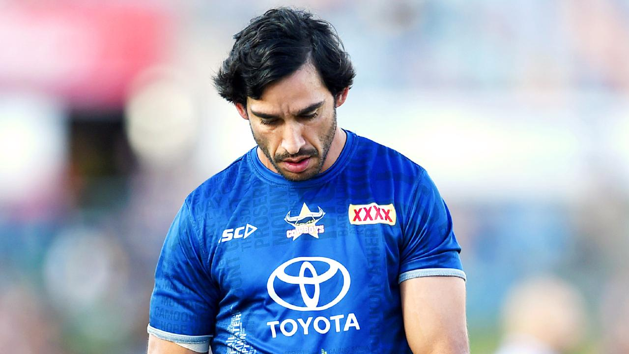 Johnathan Thurston has three games remaining in his NRL career.