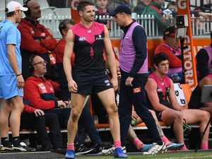 Injury shock: Season over for Hogan