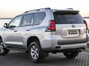 Toyota Prado can ditch boot spare tyre for the city slicker